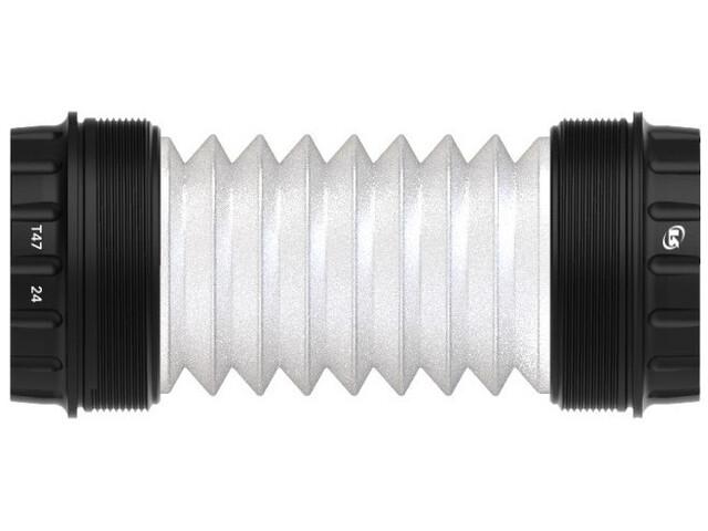 Rotor T47 Movimento centrale acciaio inossidabile esterno per asse da 24 mm